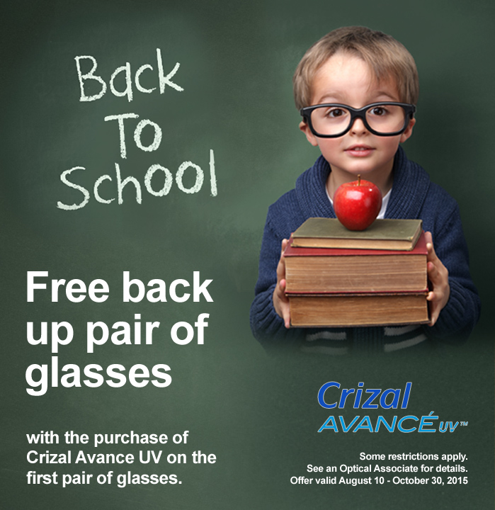 Back to School Promotion 2015